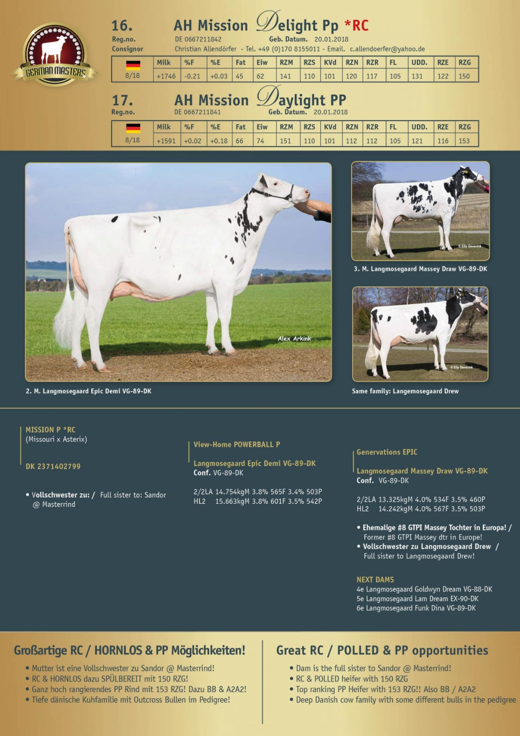 Datasheet for Lot 17. AH Mission Daylight PP
