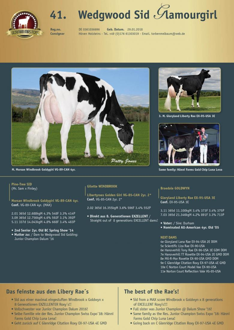 Datasheet for Lot 41. Wedgwood Sid Glamourgirl